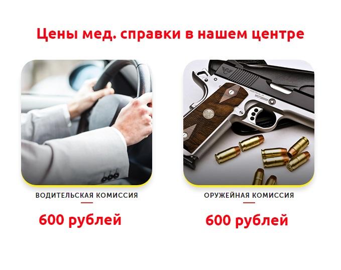 Стоимость водительской справки и справки на оружие